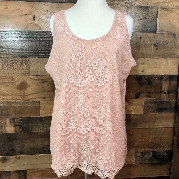Maurices Lace Tank Size XXL